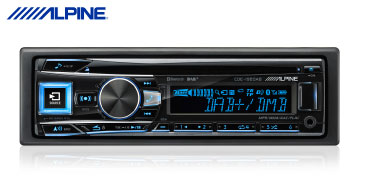 ALPINE CDE-196DAB: Audioradio mit CD, USB, Bluetooth und DAB+